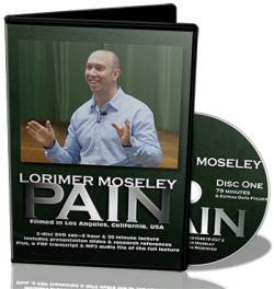 pain researcher lorimer moseley, lorimer moseley video, pain research lecture lorimer moseley