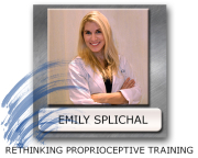 proprioceptive training with Emily Splichal