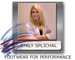 Emily Splichal Footwear - Footwear For Performance - Newest Athletic Footwear