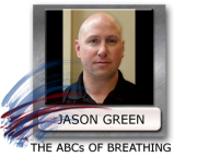 coaching breathing practice with Jason Green