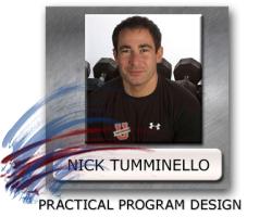 nick tumminello program design, workout program design, exercise programming