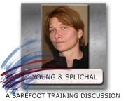 Emily Splichal Sarah Young Barefoot Training