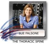 thoracic spine mobility, Sue Falsone