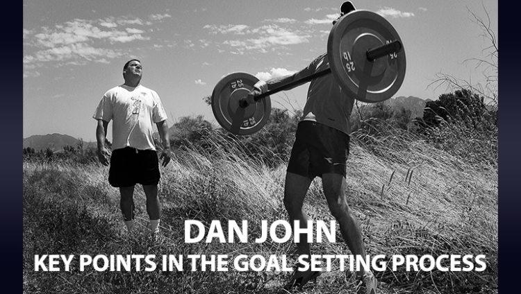 Dan John Goal Setting