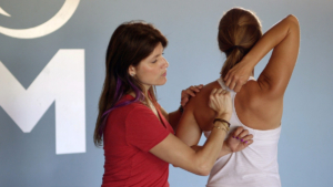 FMS Shoulder test and t-spine mobility with Sue Falsone