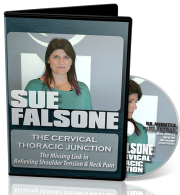 sue falsone cervical spine, sue falsone thoracic spine, cervical thoracic junction video