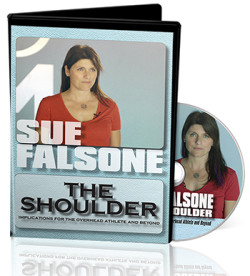 sue falsone, shoulder injury, shoulder rehab, overhead athlete, shoulder compensations, shoulder drills