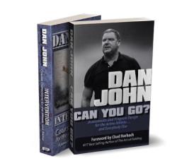 Dan John Intervention and Can You Go book bundle