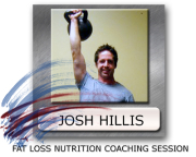 nutrition for fat loss Josh Hillis