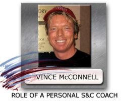 personal training for high school athletes, strength coaching for high school, vince mcconnell coaching