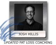 Josh Hillis Fat Loss Coaching - Fat Loss Counselling - Best Program To Lose Fat
