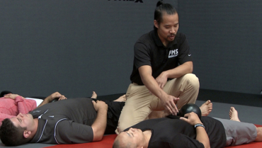 Mark Cheng breathing drill for t-spine mobility
