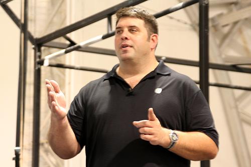 weightlifting coach Glenn Pendlay
