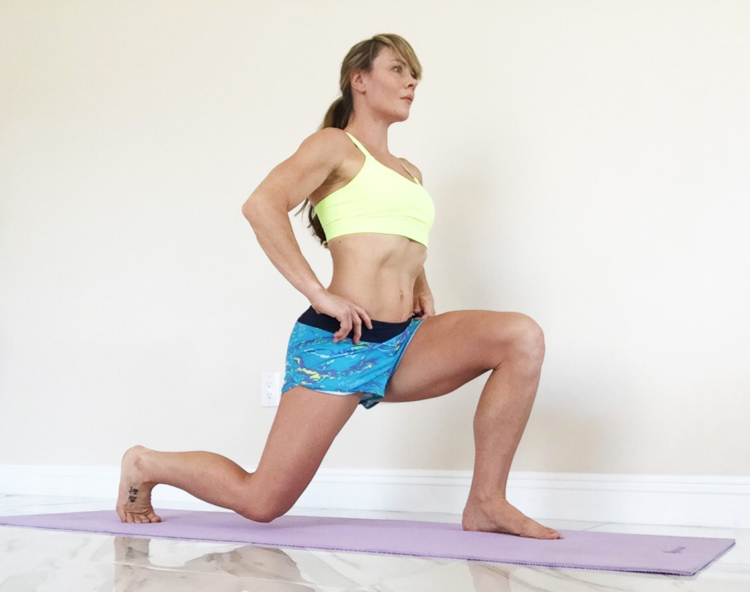 Performing exercises in a staggered stance can be very painful in the pubis symphosis since the ligaments that connect the pelvis are loose and unstable.