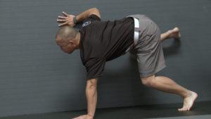 Mark Cheng with Jimmy Yuan, diagonal crawling progression